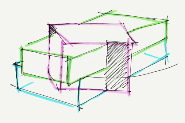 Architects Concept Sketch