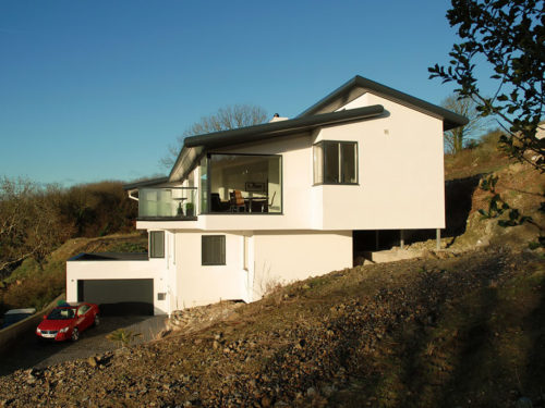 House On Steep Ground Solution