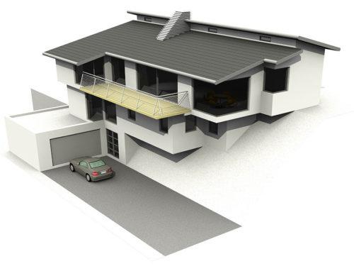 Welsh Home 3d Visulisation