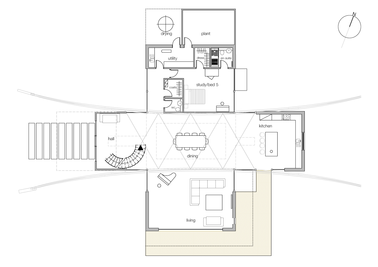West Lodge Ground Floor Layout
